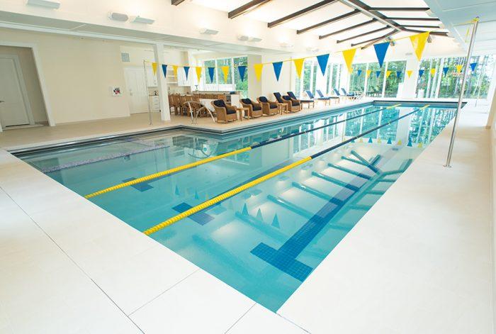 Indoor Lap Lane Pool