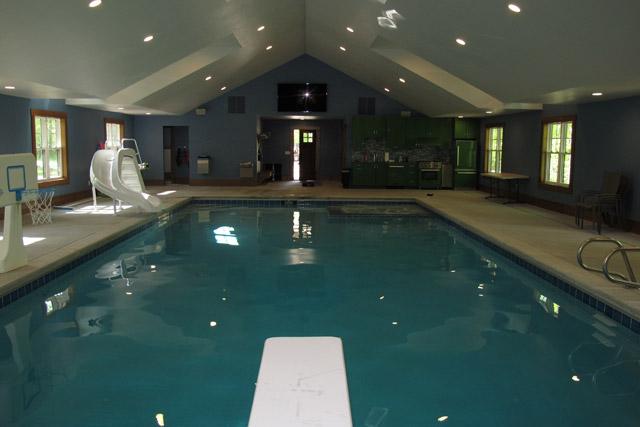 Indoor pool builder