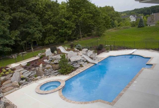 Landscape Slide Pool