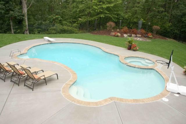 Shotcrete custom pool