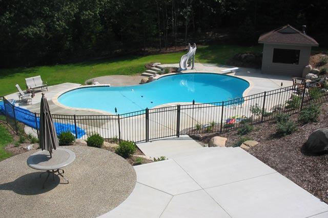 Custom Pool build