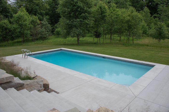 Custom Concrete Pool in Marne, MI