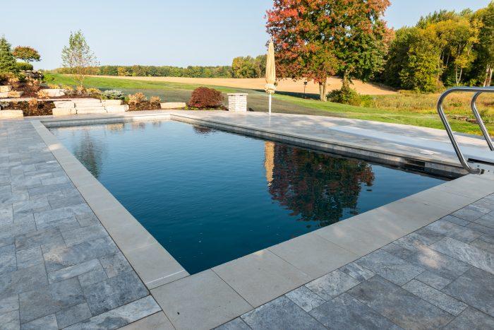 Pebble Concrete Pool
