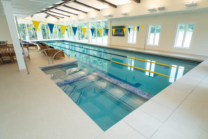Concrete Lap Lane Pool