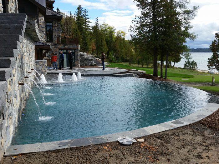 custom design pool